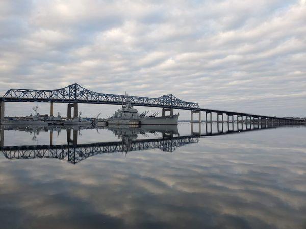 Braga Bridge at Battleship Cove thumbnail