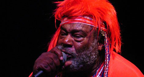 George Clinton performing in May of 2007