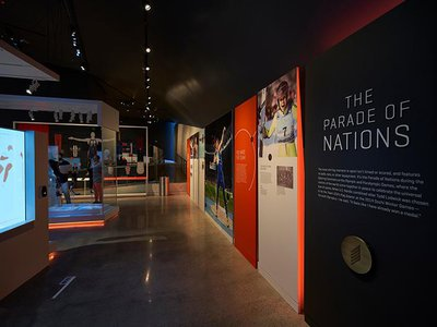 The 60,000-square-foot museum opens today.