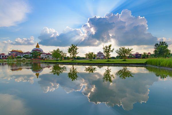 Reflection of Heaven Light, Lumbini thumbnail