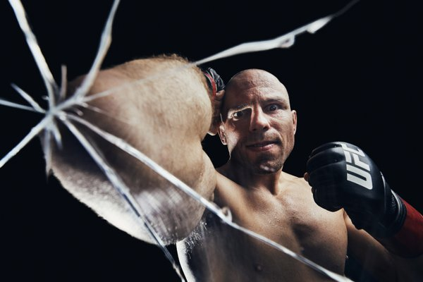 Portrait of MMA fighter Mark O. Madsen thumbnail