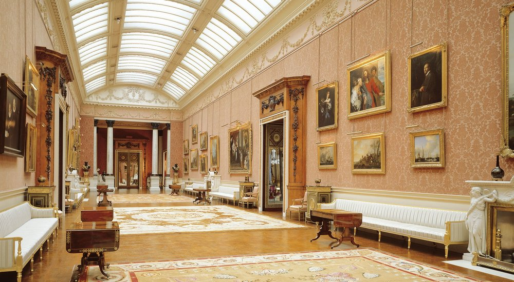 Buckingham Palace's picture gallery