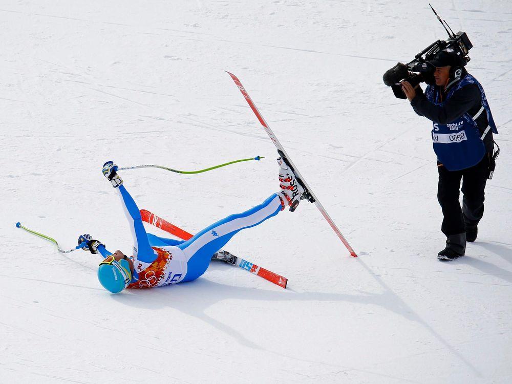 Skiier and Camera