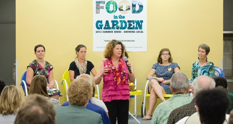 panel at Food in the Garden's