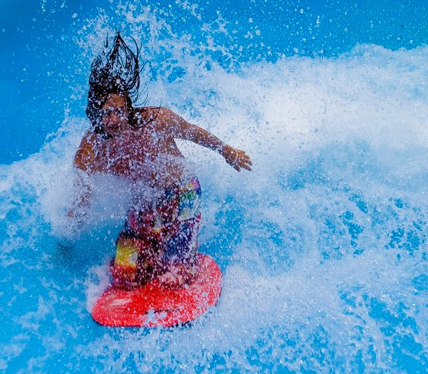 A waterpark surfer in Denver, CO. thumbnail