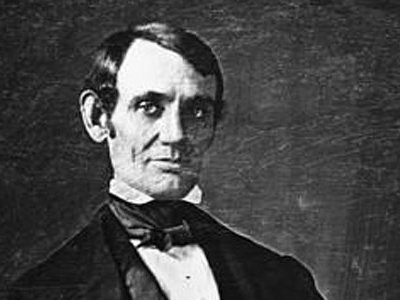 Abraham Lincoln ca. 1846, photographed in Springfield Illinois by N.H. Shepherd