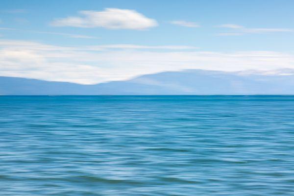Into the blue, Tahoe Lake thumbnail