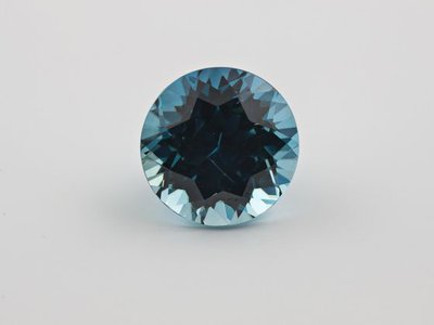 Zircons are the oldest minerals in the world and come in colors like the rich blue above. Researchers have now used these gemstones to identify when modern plate tectonics began.