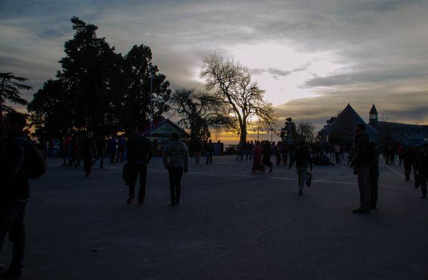 Sunset at Shimla thumbnail