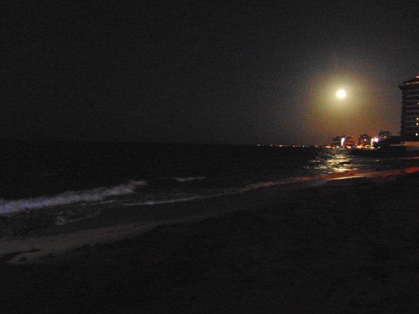 Super Moon over Old San Juan Puerto Rico thumbnail
