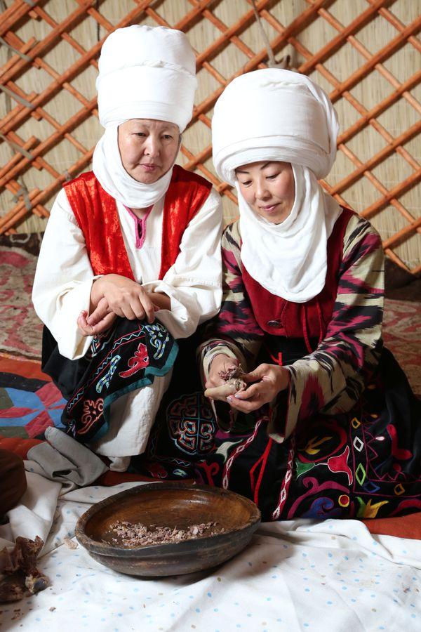 In the Kyrgyz yurt thumbnail