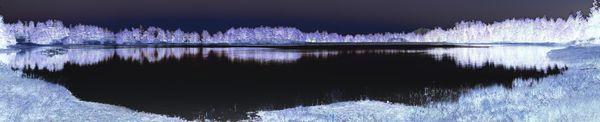 Kossler Lake Infra-Red Panorama thumbnail