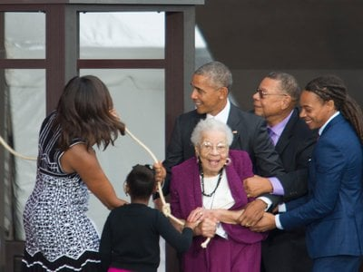 When the moment came to ring the Freedom Bell alongside President Obama and the First Lady, Ruth Bonner was overjoyed.