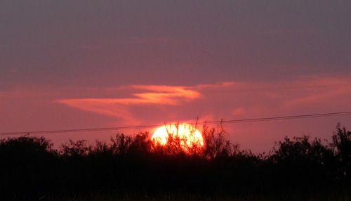 Sunrise over South Texas