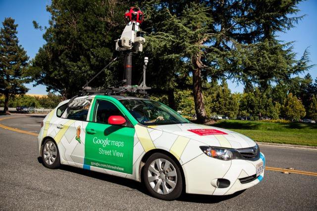 Google Street View Cars Are Mapping City Air Pollution
