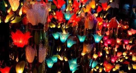 Lamps at the Chiang Mai market