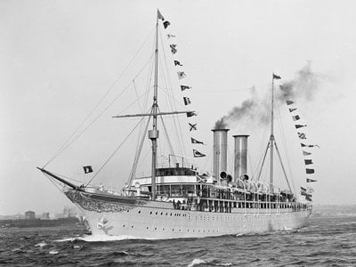"""James Delgado, the former director of NOAA's Maritime Heritage Program, says there is consensus that the Prinzessin Victoria Luise was the """"first purpose-built, non-private excursion ship: what we call 'cruise' ships today."""""""