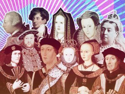 Featuring Richard III, Elizabeth I, Queen Victoria, George III and more