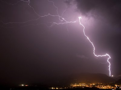 New high-speed footage settles a controversy over how electric charges make the connection that leads to bolts of lightning.