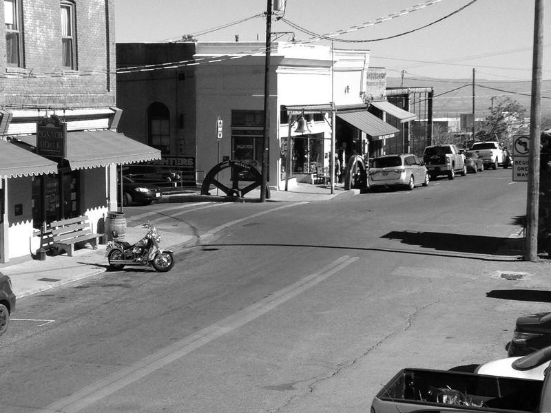 Archives : Photographs : Main Street, Jerome, Arizona
