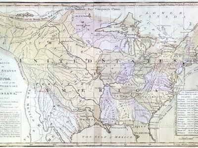 The Louisiana Purchase nearly doubled the size of the United States and the cost of about four cents an acre was a breathtaking bargain.