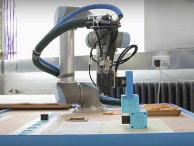 Engineers at Cambridge University created a robot that could build and improve on other robots, in an artificial form of natural selection.