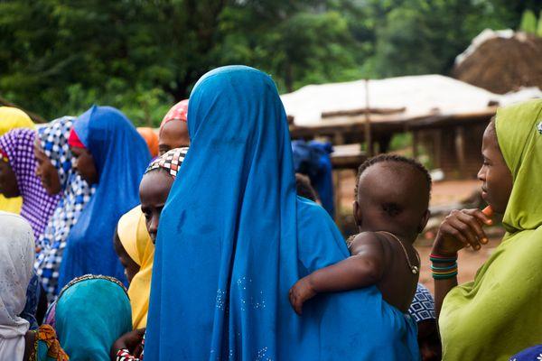 Fulani women gathering  thumbnail