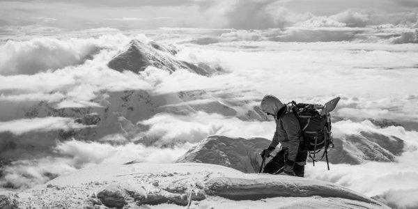 A climber ascends thumbnail