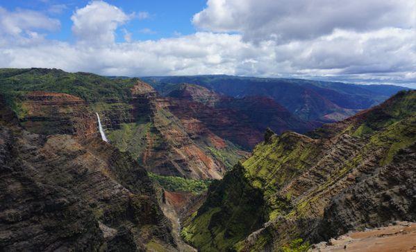 Waterfall in Waimea Canyon thumbnail