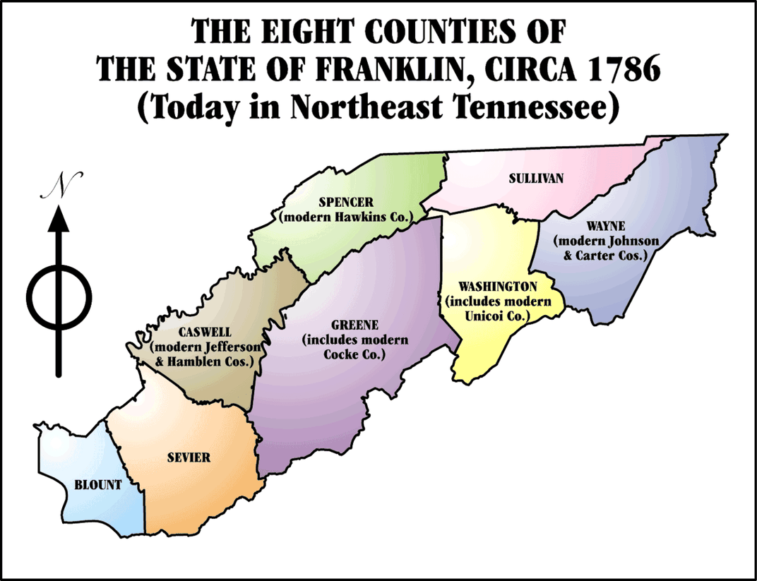 The True Story of the Short-Lived State of Franklin