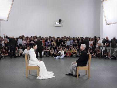 Marina Abramović, The Artist is Present, Performance, 3 months, The Museum of Modern Art, New York, NY, 2010