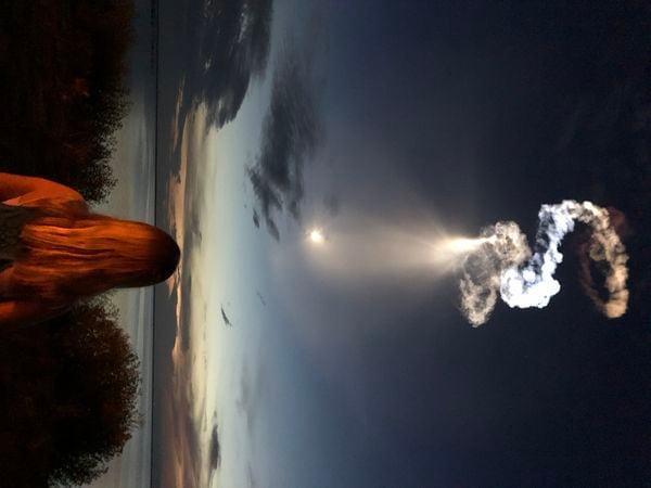 Pre-dawn SpaceX launch thumbnail