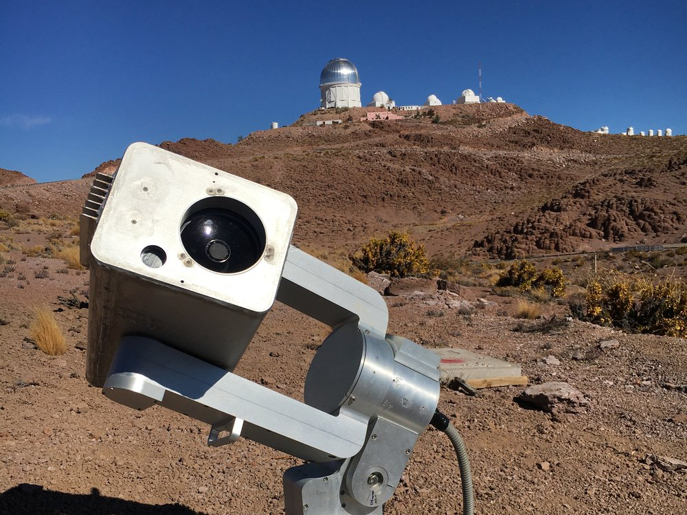 This telescope located in Cerro Tololo, Chile is just one of many within the MicroObservatory Robotic Telescope Network. (Smithsonian Astrophysical Observatory)