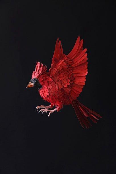 Diana Beltran Herrera's Flock of Paper Birds