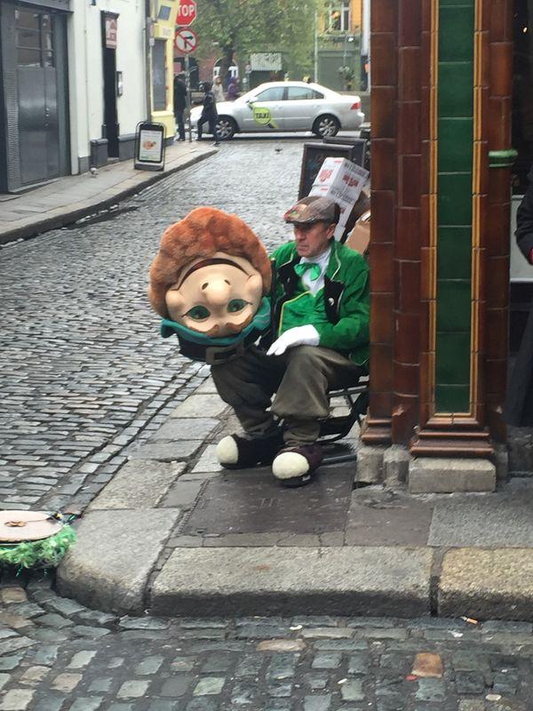 Street Scene in Dublin, Ireland thumbnail