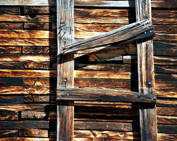 Weathered Wood Ladder thumbnail