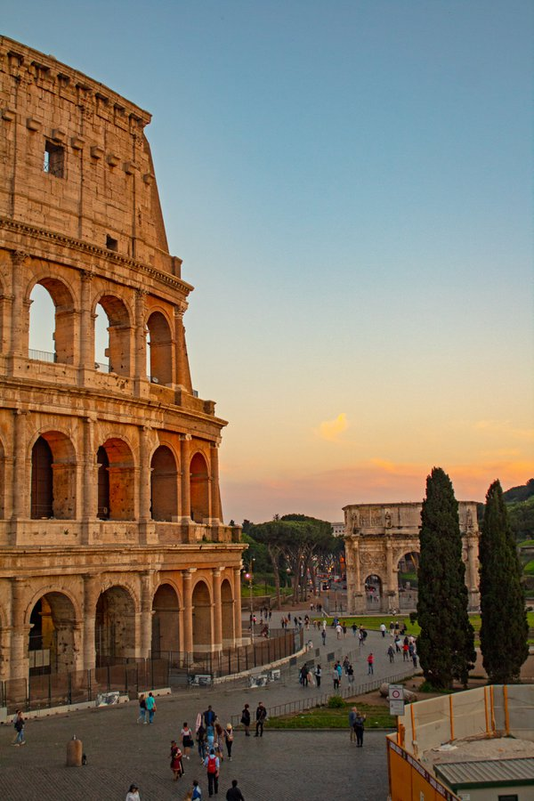 Sunset at the Colosseum  thumbnail