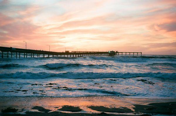 Sunset over San Diego thumbnail