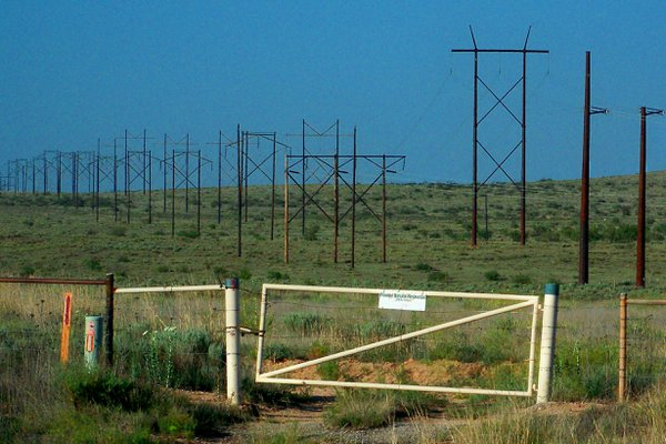 Fenced power lines thumbnail
