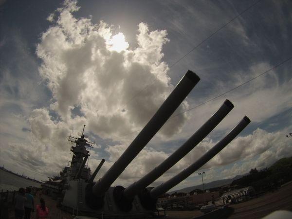 U.S.S. Missouri stationed at Pearl Harbor thumbnail