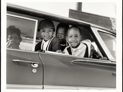 First day of Memphis integration, TN by Dr. Ernest C. Withers, 1961