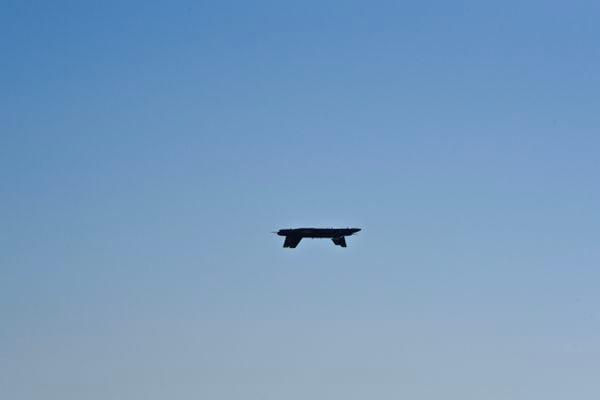 Two Blue Angels passing at an Air Show in Huntington Beach, CA thumbnail