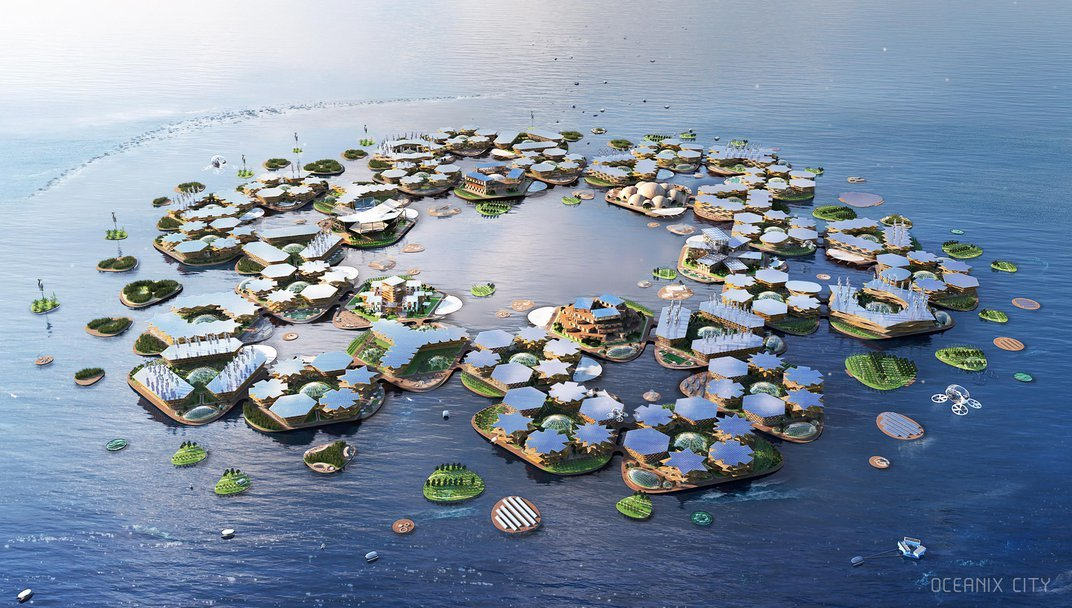 From Floating Cities to Biodegradable Burial Pods and Flying Cars, the Smithsonian Envisions a Multitude of Futures