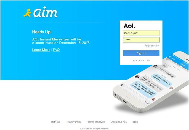 AOL Instant Messenger Taught Us How To Communicate in the Modern World