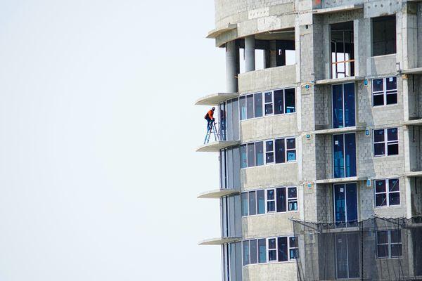 Man on a ladder thumbnail