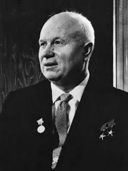 Soviet Premier Nikita Khruschev In Vienna