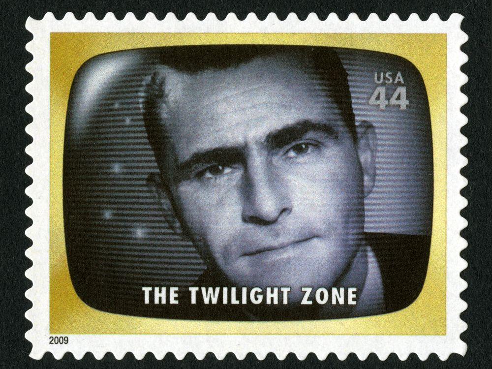 Twilight Zone Stamp