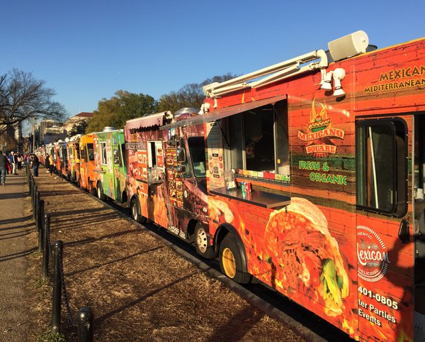 Food trucks on the National Mall thumbnail