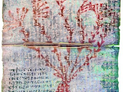 An illustrated Greek medical text was found beneath the oldest Arabic translation of the Gospels.