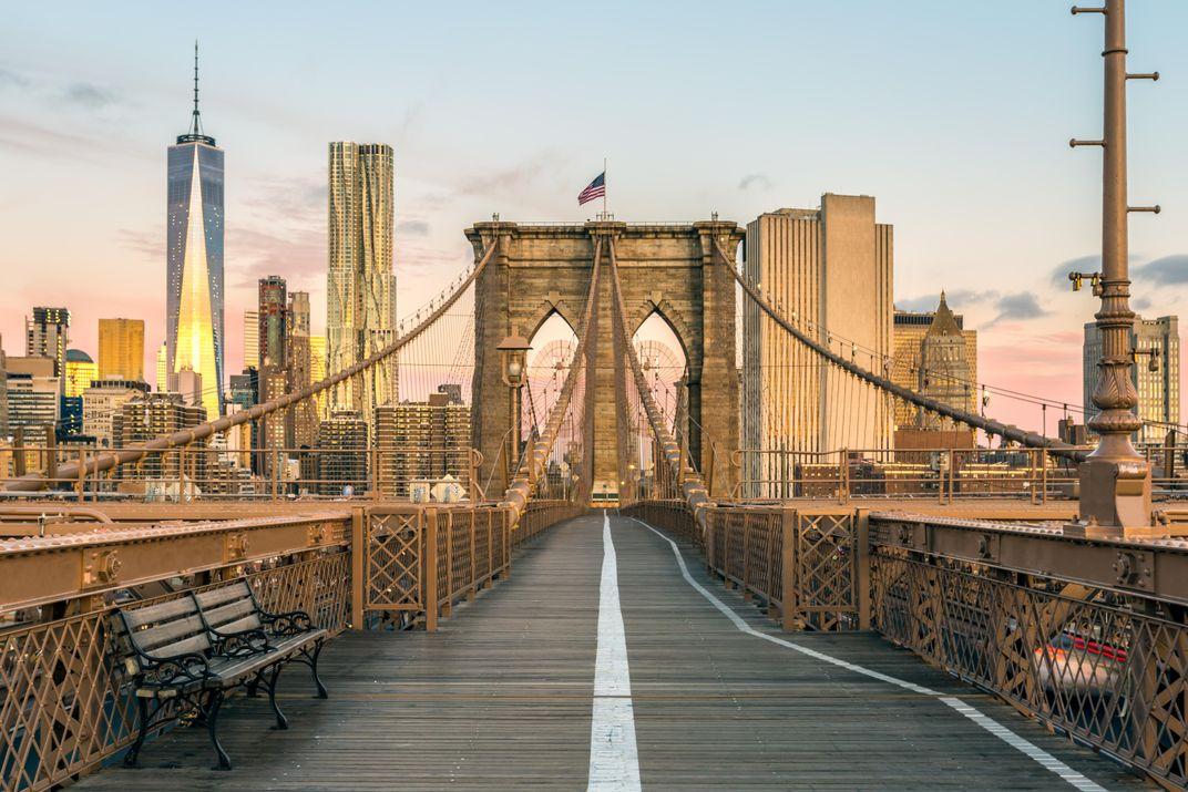 Walk Across the Brooklyn Bridge as Bill Murray Reads You Poetry This June